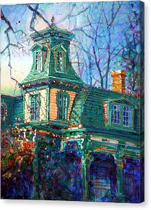 Oakwood House Canvas Print by Dan Nelson