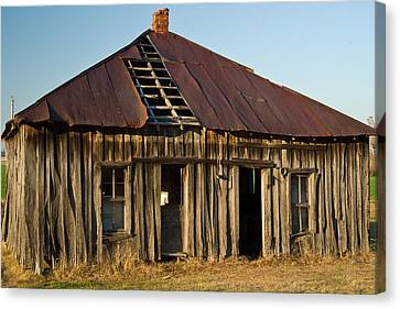Oalold House Place Arkansas Canvas Print by Douglas Barnett