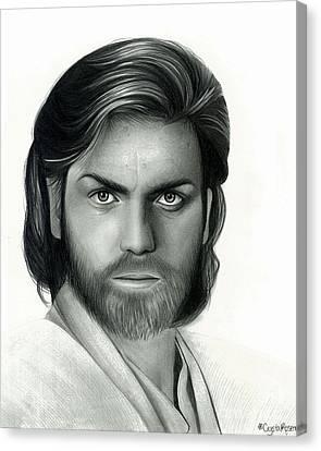Obi Wan Kenobi Canvas Print by Crystal Rosene
