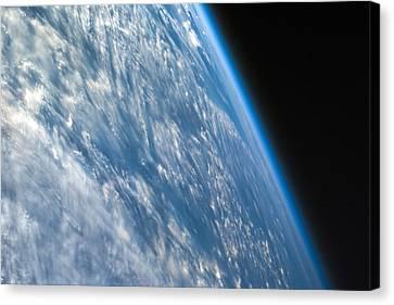 Nature Study Canvas Print - Oblique Shot Of Earth by Adam Romanowicz