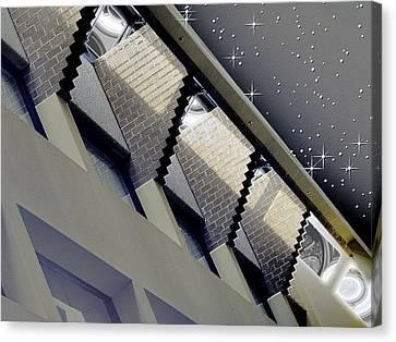 Observation Station Canvas Print by Wendy J St Christopher