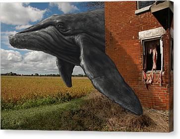 Obtain Bearing Canvas Print by Mark Zelmer