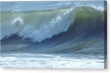 Oc Big Surf Canvas Print by John Wartman