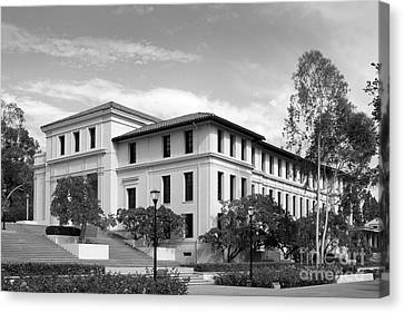 Occidental College Fowler Hall Canvas Print by University Icons