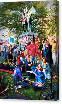 Occupy Burnside Canvas Print