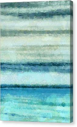 Ocean 4 Canvas Print by Angelina Vick