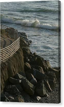 Ocean Beach Boat Ramp Canvas Print