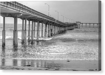 Ocean Beach Pier Canvas Print