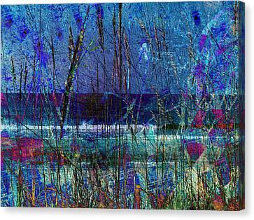 Ocean Blue Canvas Print