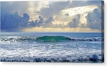 Ocean Blue Canvas Print by Laura Fasulo