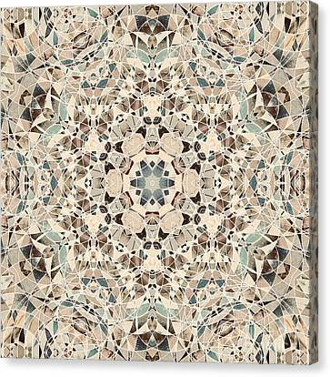 Ocean Breeze 51c02 - Mandala Canvas Print