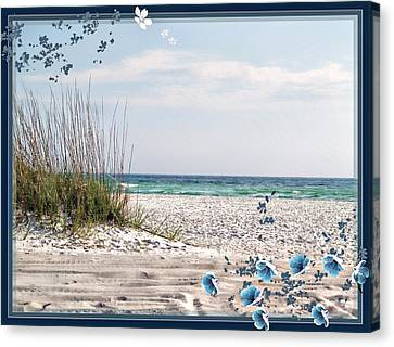 Ocean Breeze Canvas Print by Athala Carole Bruckner