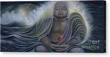 Ocean Buddha Canvas Print