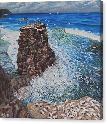 Ocean Dream Canvas Print by Caroline Street