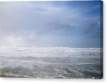 Ocean Foam Canvas Print