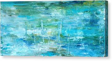 Ocean I Canvas Print by Tia Marie McDermid