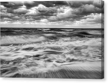 Ocean In Flux Canvas Print by Jon Glaser