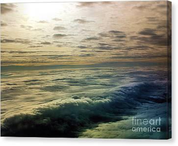 Ocean In The Sky Canvas Print