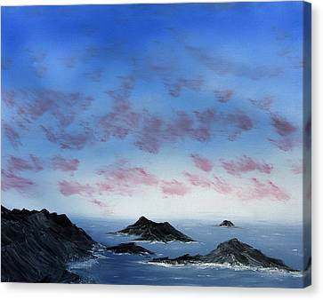 Ocean Islands Canvas Print