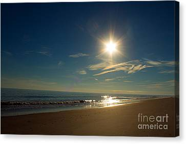 Ocean Isle Beach Sunshine Canvas Print