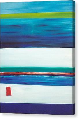 Ocean Journey Canvas Print by Phoenix De Vries