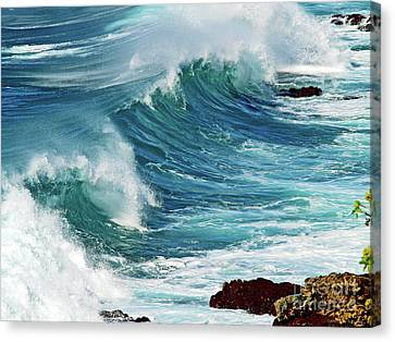 Ocean Majesty Canvas Print by Patricia Griffin Brett
