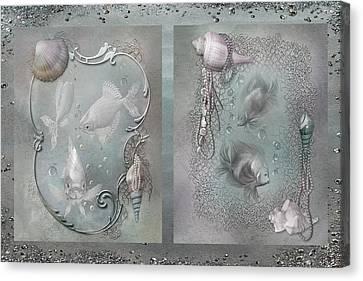 Ocean Moods Canvas Print by Carol Cavalaris