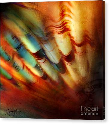 Ocean Motion Canvas Print by Shevon Johnson