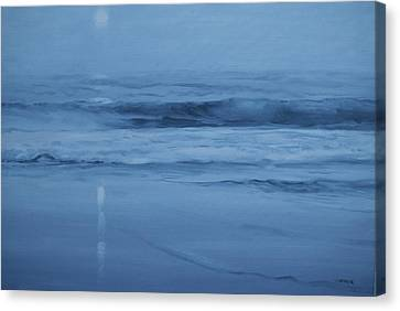 Ocean Nocturne Canvas Print