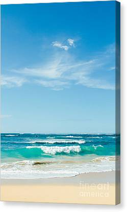 Canvas Print featuring the photograph Ocean Of Joy by Sharon Mau
