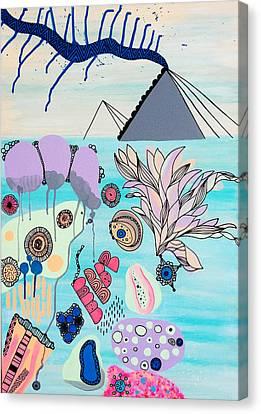 Ocean Parade Canvas Print by Susan Claire