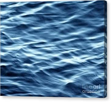 Ocean Ripples Canvas Print by Artist and Photographer Laura Wrede