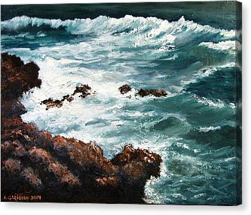 Ocean Rocks  Canvas Print
