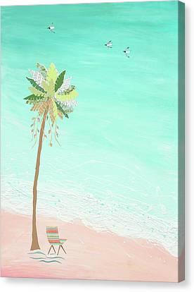 Ocean Song Canvas Print by Jennifer Peck