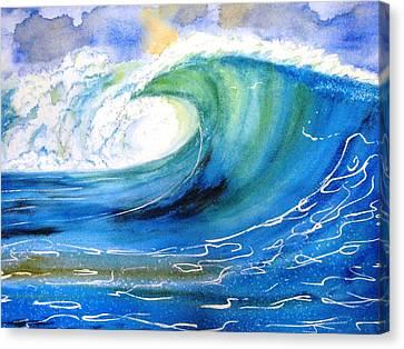 Ocean Spray Canvas Print by Carlin Blahnik