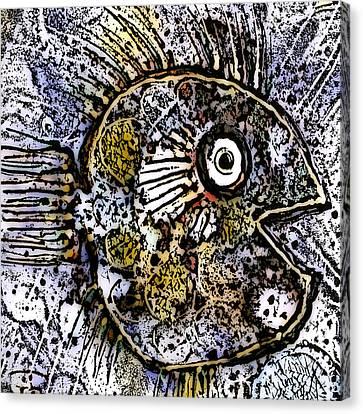 Ocean Sunfish Canvas Print by Selke Boris