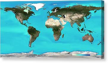 Ocean Surface Ph Canvas Print