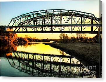 Ocean-to- Ocean Bridge Canvas Print by Robert Bales