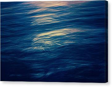 Canvas Print featuring the photograph Ocean Twilight by Ari Salmela