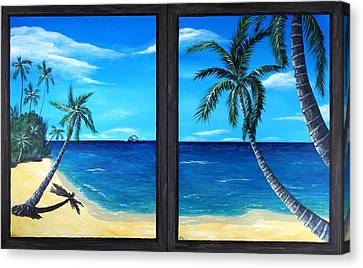 View Canvas Print - Ocean View by Anastasiya Malakhova