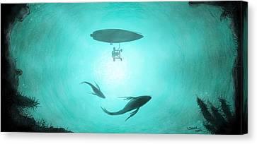 Ocean View Canvas Print by Sasank Gopinathan