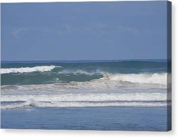 Ocean Wave 1 Canvas Print by Phoenix De Vries