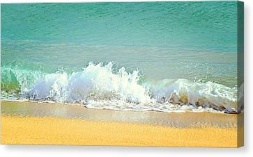 Ocean Waves  Canvas Print by Brandy Muses