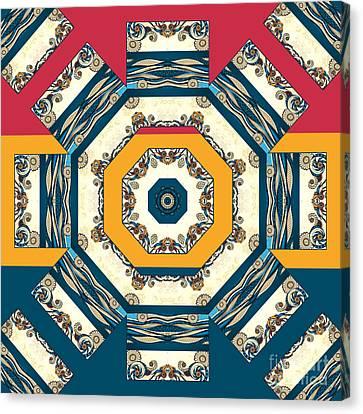 Ocean Waves Mandakal 01cm22 Canvas Print by Aimelle