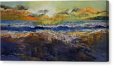 California Waves Canvas Print by Michael Creese