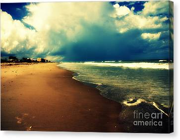 Ocean Waves Canvas Print by Susanne Van Hulst