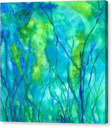 Ocean Wonder Canvas Print by Rosie Brown