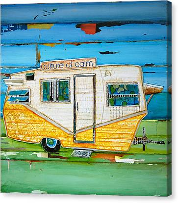 Oceanfront Property Canvas Print by Danny Phillips