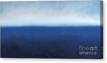 Canvas Print featuring the painting Oceanic Meditation by Tiffany Davis-Rustam