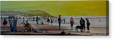 Oceans Beach San Francisco Canvas Print